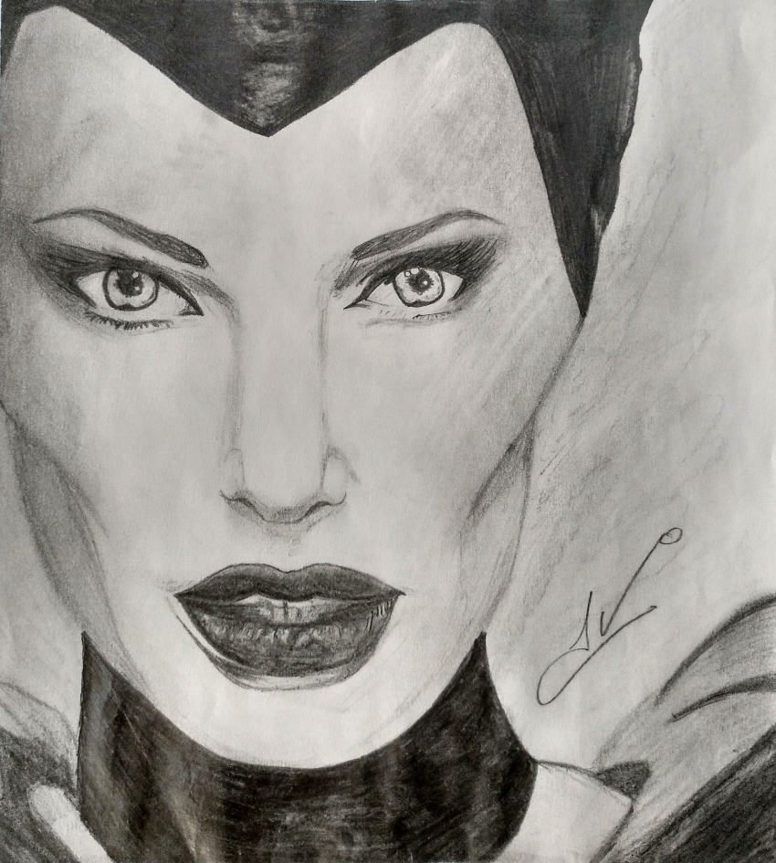 Angelina Jolie by Nereaaj